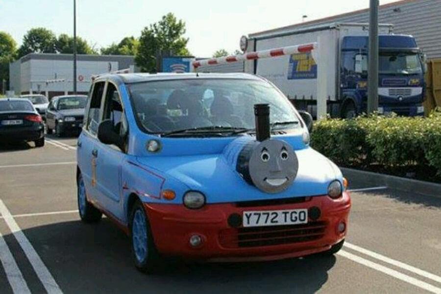Alu kola Fiat Multipla Tuning Mašinka Tomáš