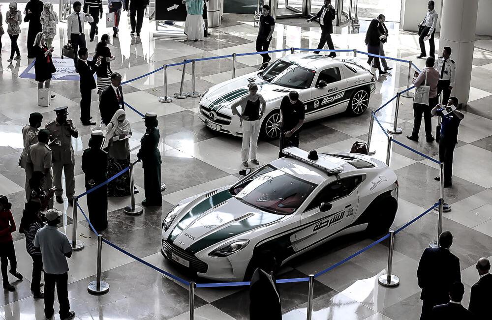 Dubai Police cars Aston Martin limited