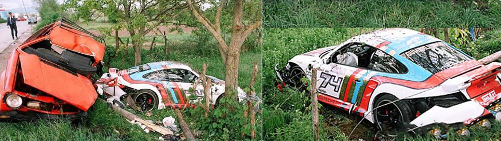Gumball 3000 nehoda z roku 2007