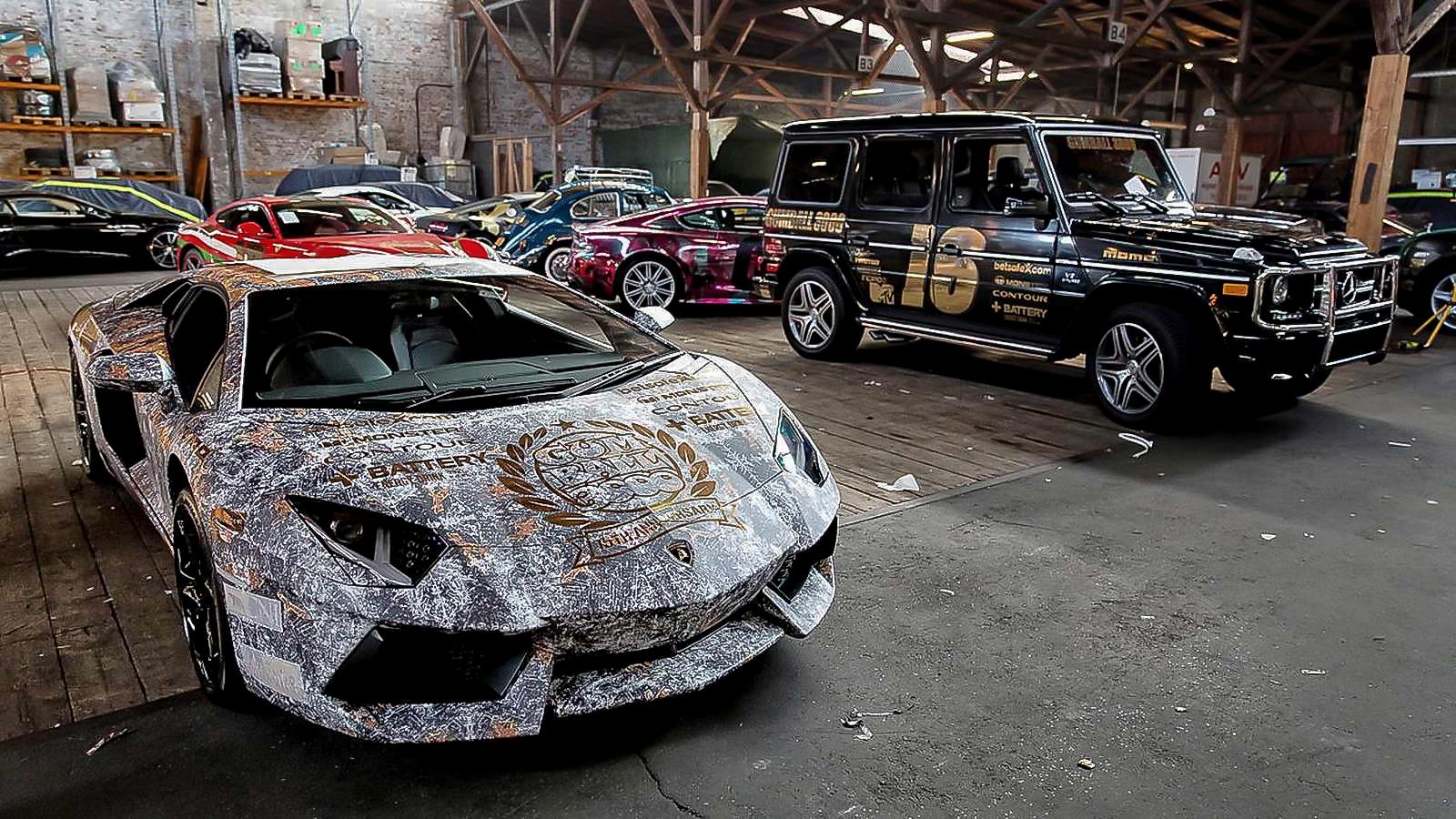 Gumball Lamborghini