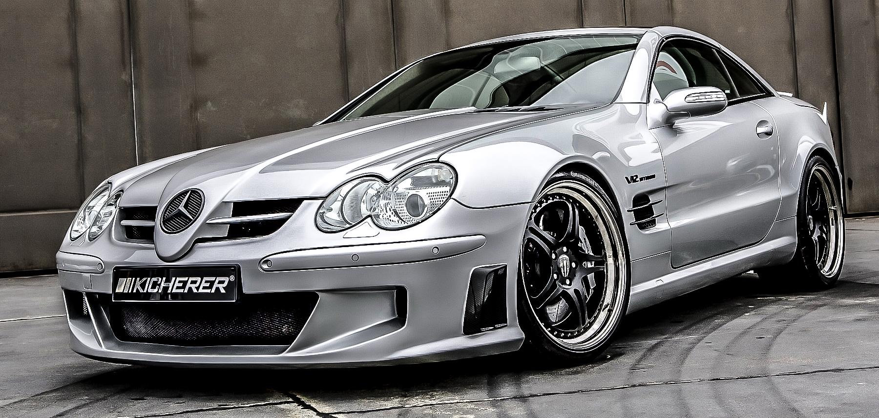 Alu kola Kicherer Mercedes Benz