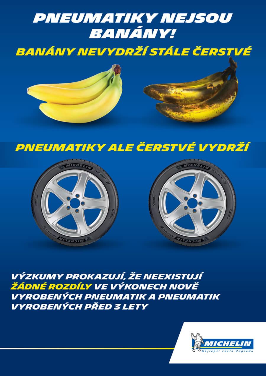 Studie Michelin o stárnutí pneumatik