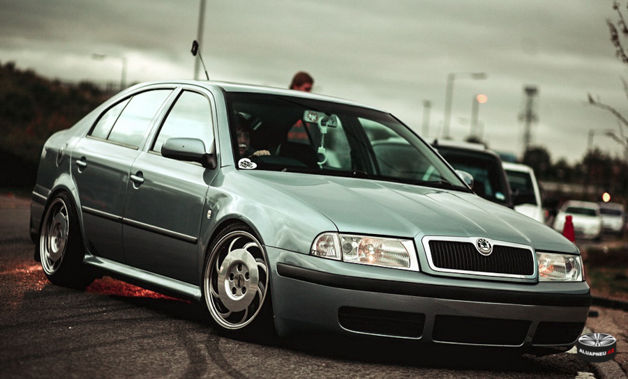 Alu kola Škoda Octavia