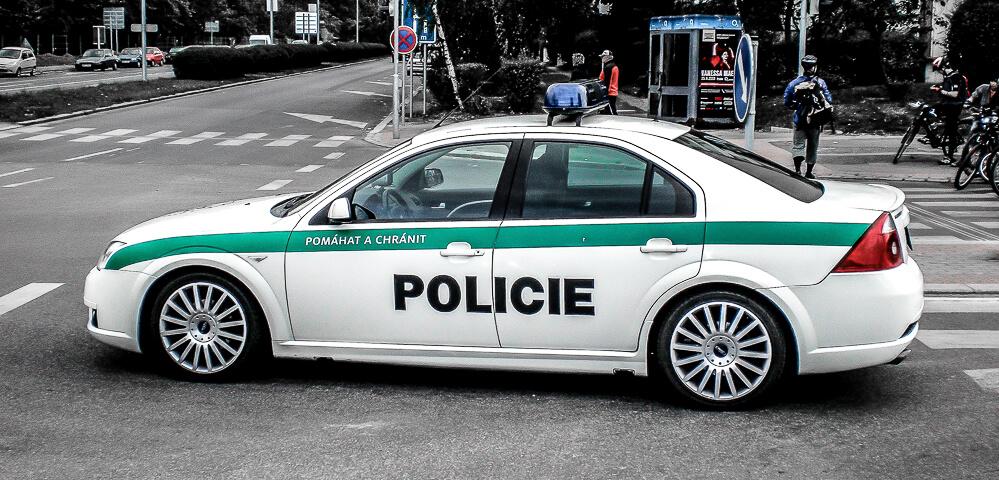 Ford Mondeo St - Policie České Republiky