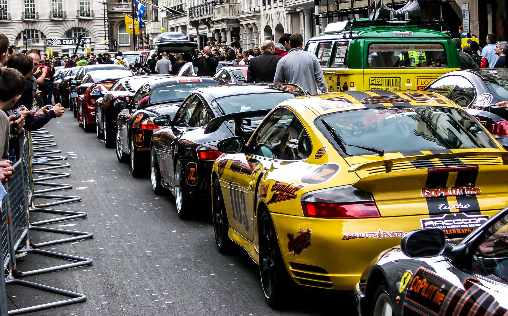 Porsche Gumball 3000 Rallye