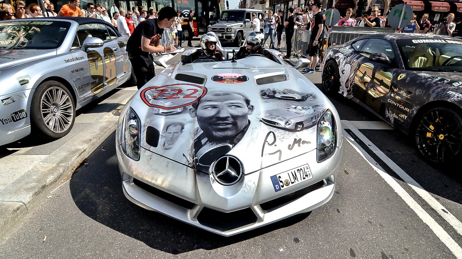Gumball 3000 Mercedes