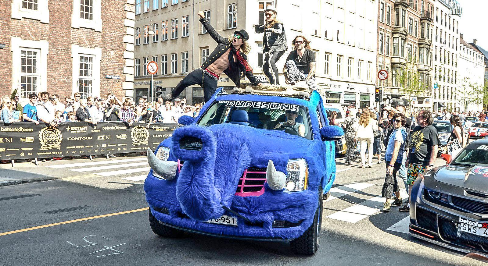 Escalade Gumball Rallye