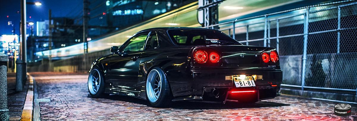 Alu kola | Nissan skyline