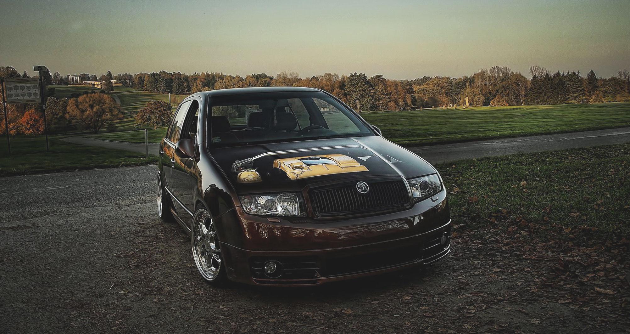 Alu kola Škoda Fabia