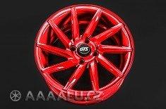 GTS wheels RACING RED